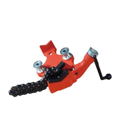 Top Screw Steel Bench Chain Pipe Vise